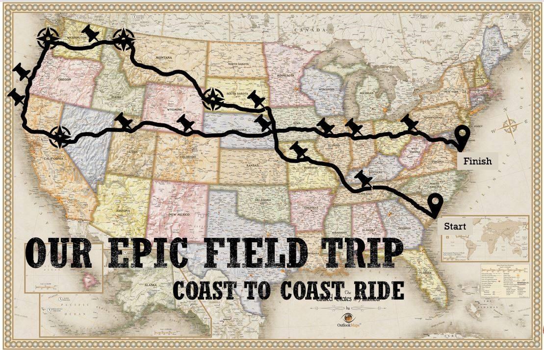 coast to coast motorcycle trip